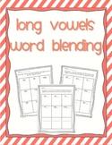 Word Blending - long vowels (a, e, i, o, u)