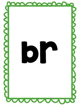 Word Blends Activity
