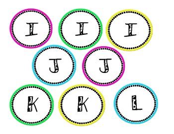 Word Board Letters