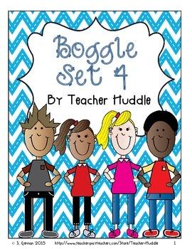 Word Boggle Set Four