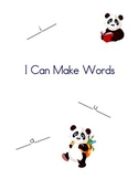 I Can Make Words Book
