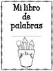 Word Book - Mi libro de palabras - in Spanish