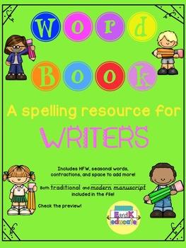 Word Book Spelling Helper