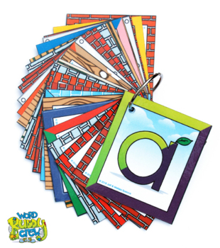 Alphabet Word Building Cards