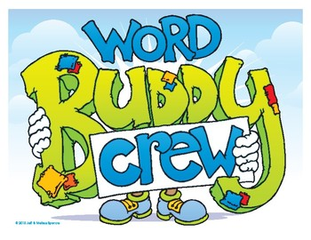 Word Buddy Crew Poster