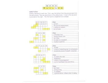 Word Builder #1