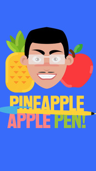 Word Builder Lesson using Pen Pineapple Apple Pen Song