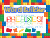 Word Builder - Prefix Activity Pack