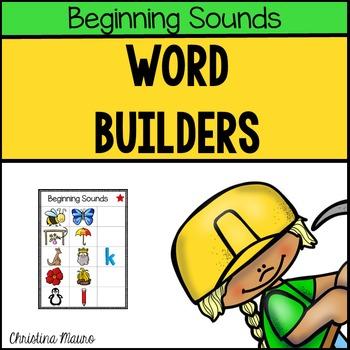 Word Builders (Beginning Sounds)