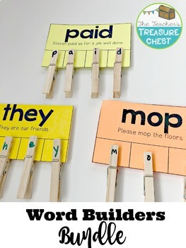 Word Builders Bundle