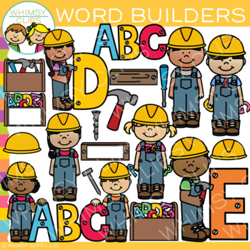 Word Builders Clip Art