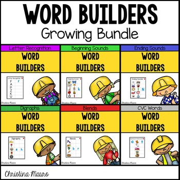 Word Builders (Growing Bundle)