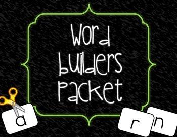 Word Builders Packet