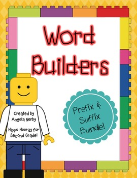 Word Builders: Prefix and Suffix BUNDLE