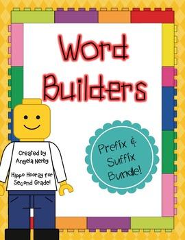 Word Builders: Prefix and Suffix BUNDLE