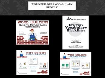Word Builders Vocabulary Bundle