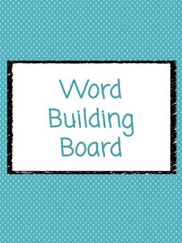 Word Building Board