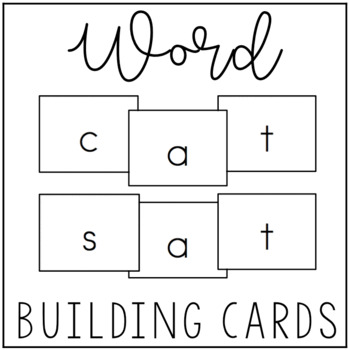 Word Building Cards