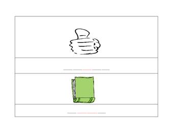 Word Building Clip Cards (Editable)
