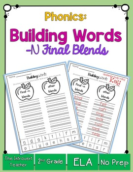 Word Building: Final Consonant Blends