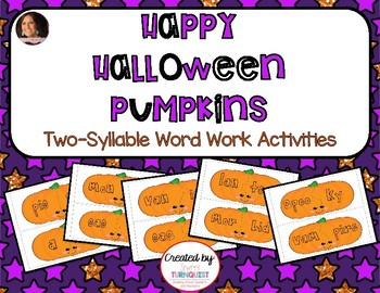 Word Building Syllable Pattern Activity