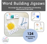 Word Building Jigsaws - Decodable first words a-z
