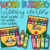Word Building Literacy Centers
