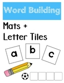 Word Building Mats (Letter Tiles Included)