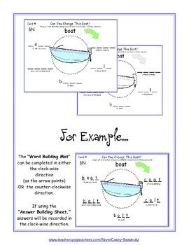 Word Building Mats GR 3-5 (Word Ladder): Spelling, Rhyming, Phonics, Vocabulary