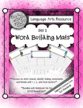Journeys Word Building: Set 2 Vowels/Double Consonants/Beginning/Ending Blends