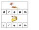Word Building Puzzles: Long E Vowel Teams Set