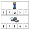 Word Building Puzzles: Long I Vowel Teams Set