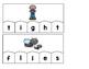 Word Building Puzzles: Long I Vowel Teams Set