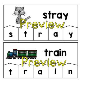 Word Building Puzzles: Long Vowel Teams Bundle