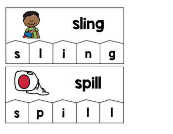Word Building Puzzles: Short I Word Families Set
