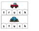 Word Building Puzzles: Short U Word Families Set
