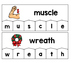 Word Building Puzzles: Silent Consonants Set
