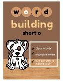 "Word Building Short Vowel ""o"" Word Family: 3 Part Cards wi"