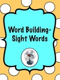 Word Building-Sight Word-letter matching,two levels, liter