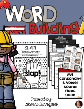Word Building Spelling & Reading Activity Set
