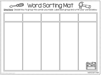 Word Building - Making Words Printables