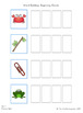Word Building & Writing Practice: Beginning & Ending Blends