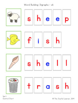 Word Building & Writing Practice: Beginning & Ending Digraphs