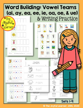 Word Building & Writing Practice: Vowel Teams