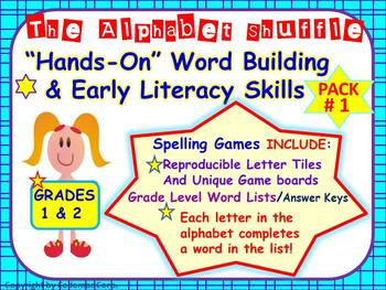 Literacy Activities For Building Vocabulary and Spelling Skills