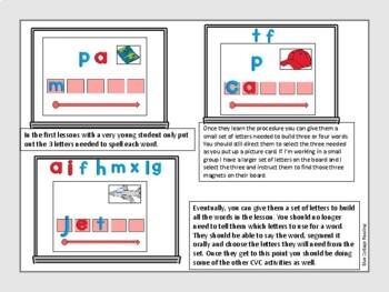 Multisensory CVC Lessons