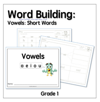 Word Building with Vowels