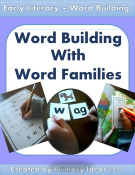 Word Building with Word Families