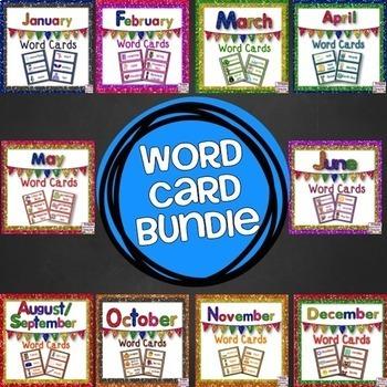 Word Card/Word Wall BUNDLE
