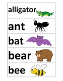 Word Cards- Animals